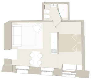 le-cadreghe-apartments-verona-papaveri-plan1